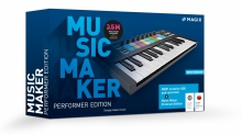 MAGIX Music Maker Performer Edition (Music Maker Premium Edition + Novation Launchkey Mini Mk3)