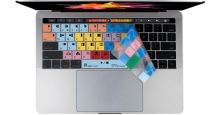 Nakładka LogicSkin MAC AVID Media Composer (typ: US, MacBook Pro 2016) LS-MCOM4-MBP16-US