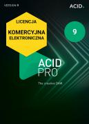 ACID Pro 9 (licencja elektroniczna, komercyjna)
