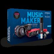 MAGIX Music Maker Studio Edition (Music Maker Premium Edition + Samplitude Music Studio + Focusrite)