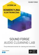 Sound Forge Audio Cleaning Lab (elektroniczna, komercyjna)