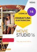 Vegas Movie Studio 16 PL (licencja elektroniczna, edukacyjna)