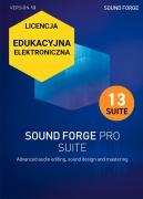 Sound Forge Pro 13 Suite (licencja elektroniczna, edukacyjna)