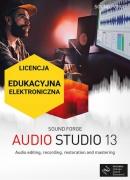 Sound Forge Audio Studio 13 (licencja elektroniczna, edukacyjna)