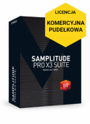 MAGIX Samplitude Pro X3 Suite (wersja pudełkowa, licencja komercyjna)
