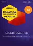 Sound Forge Pro 13 (licencja elektroniczna, edukacyjna, aktualizacja)
