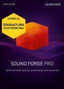 SOUND FORGE Pro 15 (licencja elektroniczna, edukacyjna)