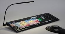 Klawiatura PC dla AVID NewsCutter + oświetlenie LogicLight (US, NERO) LKBU-NEWSC-BJPU-US