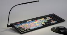 Klawiatura PC dla Premiere Pro CC + oświetlenie LogicLight (US, NERO) LKBU-PPROCC-BJPU-US