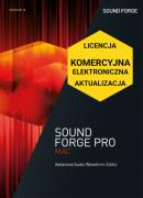 Sound Forge Pro Mac 3 (licencja elektroniczna, komercyjna, aktualizacja)