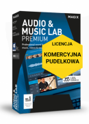 MAGIX Audio & Music Lab Premium (wersja pudełkowa, licencja komercyjna)