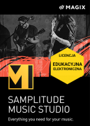 MAGIX Samplitude Music Studio 2022 (licencja elektroniczna, edukacyjna)