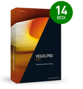 Vegas Pro 14 EDIT (pudełko, komercyjna)