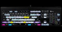 Klawiatura PC podświetlana dla Davinci Resolve 16 (typ: US, Astra) LKBU-RESB-APBH-US