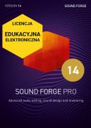 Sound Forge Pro 14 (licencja elektroniczna, edukacyjna)