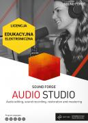 Sound Forge Audio Studio 15 (licencja elektroniczna, edukacyjna)