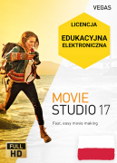 Vegas Movie Studio 17 PL (licencja elektroniczna, edukacyjna)