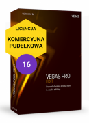 Vegas Pro 16 EDIT (pudełko, komercyjna)