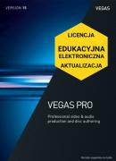 Vegas Pro 15 (elektroniczna, edukacyjna, aktualizacja)
