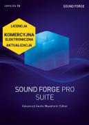SOUND FORGE Pro 15 Suite (licencja elektroniczna, komercyjna, aktualizacja)
