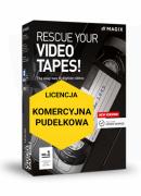 MAGIX Rescue your Videotapes! (wersja pudełkowa, licencja komercyjna)