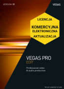 Vegas Pro 15 EDIT (elektroniczna, komercyjna, aktualizacja)