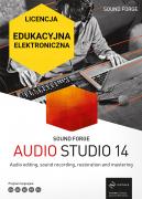 Sound Forge Audio Studio 14 (licencja elektroniczna, edukacyjna)