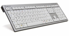 Klawiatura PC Logickeyboard (typ: UK, Slim Line) SKB-AJPU-UK
