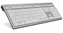 Klawiatura PC Logickeyboard (typ: UK, Slim Line) SKB-AJPU-UK