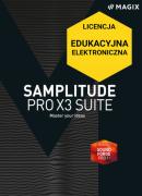 MAGIX Samplitude Pro X3 Suite (licencja elektroniczna, edukacyjna)