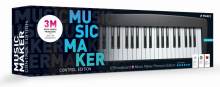 MAGIX Music Maker Control Edition (Music Maker Premium Edition + Miditech USB keyboard, 4 oktawy, wersja pudełkowa, licencja komercyjna)