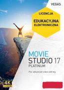 Vegas Movie Studio 17 Platinum PL (licencja elektroniczna, edukacyjna)