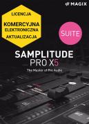 MAGIX Samplitude Pro X5 Suite (licencja elektroniczna, komercyjna, aktualizacja)