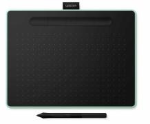 Tablet graficzny Wacom Intuos Pen Bluetooth M (A5) CTL-6100WLEN pistacjowy + 3 programy + kurs obsługi PL