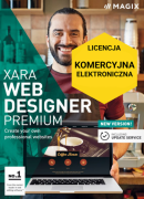 MAGIX Xara Web Designer Premium (licencja elektroniczna, komercyjna)