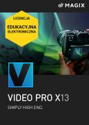 MAGIX Video Pro X 13 (licencja elektroniczna, edukacyjna)