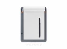 Cyfrowy notatnik Bamboo Slate A5 CDS-610S Wypożyczalnia – egzemplarz demo.