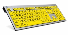 Klawiatura PC XL Print duże znaki + oświetlenie LogicLight (US, Slim Line) LKBU-LPRNTBY-AJPU-US