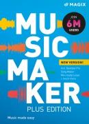 MAGIX Music Maker Plus Edition 2022 (licencja elektroniczna, edukacyjna)
