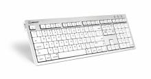 Klawiatura MAC Logickeyboard Premium (typ: UK, ALBA) SKB-CWMU-UK