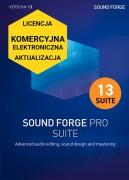 Sound Forge Pro 13 Suite (licencja elektroniczna, komercyjna, aktualizacja)