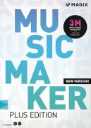 MAGIX Music Maker Plus  Edition (licencja elektroniczna, komercyjna)