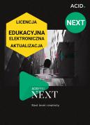 ACID Pro NEXT (licencja elektroniczna, edukacyjna, aktualizacja)