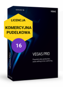Vegas Pro 16 (pudełko, komercyjna)