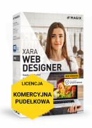 MAGIX Xara Web Designer (wersja pudełkowa, licencja komercyjna)