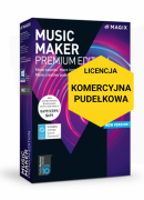 MAGIX Music Maker Premium Edition (wersja pudełkowa, licencja komercyjna)