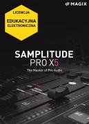 MAGIX Samplitude Pro X5 (licencja elektroniczna, edukacyjna)