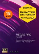 Vegas Pro 18 SUITE (edukacyjna, aktualizacja)