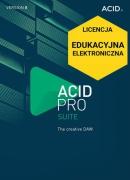 ACID Pro 8 Suite (licencja elektroniczna, edukacyjna)
