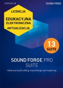 Sound Forge Pro 13 Suite (licencja elektroniczna, edukacyjna, aktualizacja)